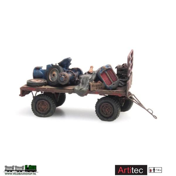Artitec 487.601.03 Hooiwagen verroest H0