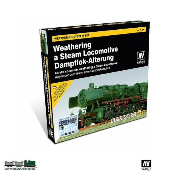 Vallejo 70150 Rust and Steel Weathering Set Veldbaanshop.nl