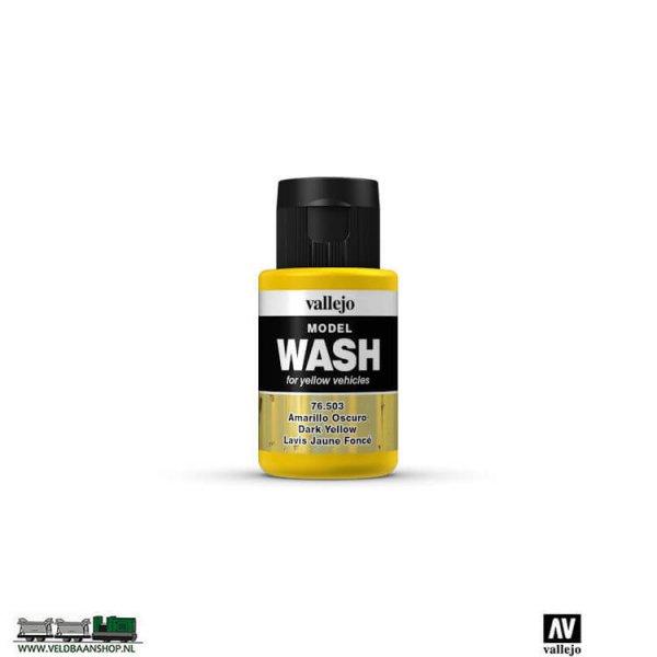 Vallejo 76503 Model Wash Dark Yellow 35ml potje