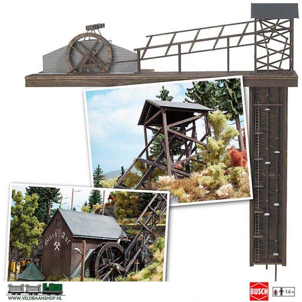 Busch 1479 bouwdoos mijnlift paternoster H0