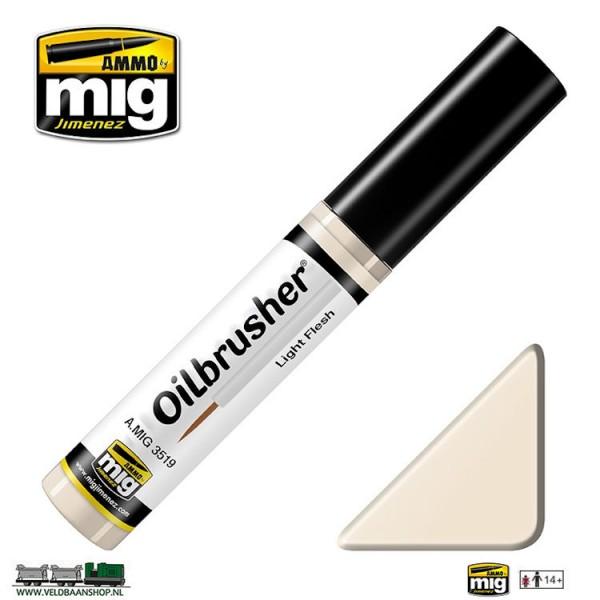 MIG 3519 Ammo MIG Jimenez Oilbrusher Light Flesh Veldbaanshop.nl