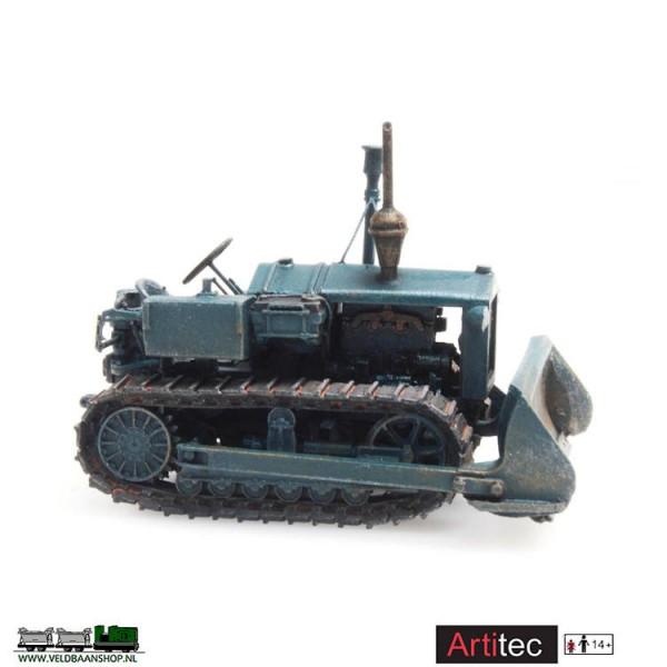 Artitec 387.377 - Hanomag K50 bulldozer H0 gereed model