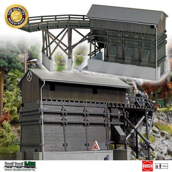 Busch 1478 bouwdoos overslagbunker H0