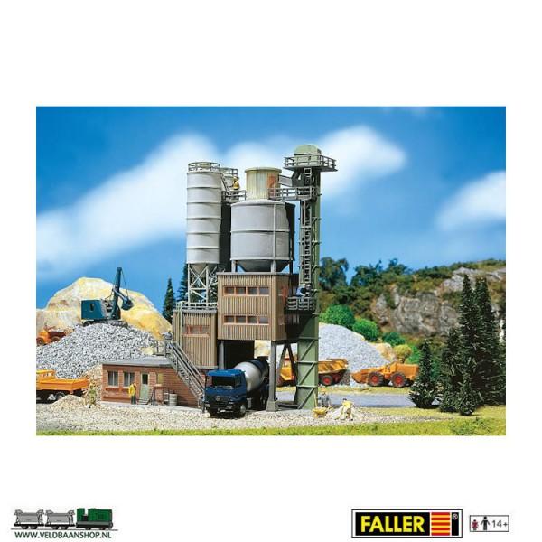 Faller 130474 moderne cementfabriek H0 Veldbaanshop.nl