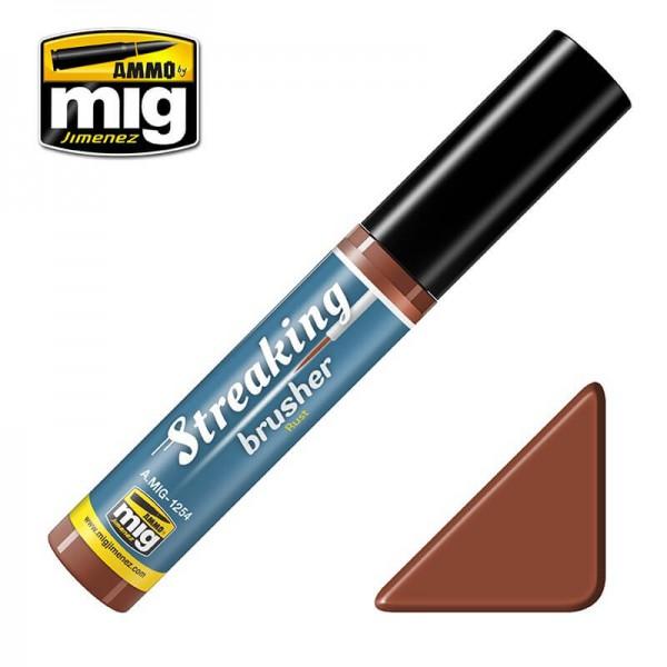 MIG 1254 Streaking Brusher Rust