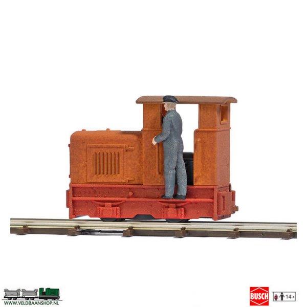 Busch 12180 Diesel Lokomotief Gmeinder 15/18 H0f