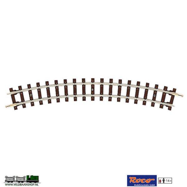 Roco 32204 gebogen smalspoor veldbaanrails H0e