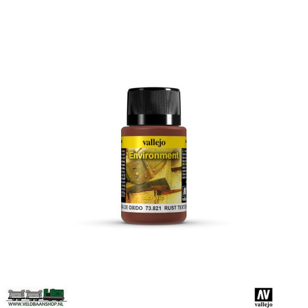 Vallejo 73821 Weathering  Environment Effects Rust