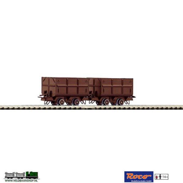 Roco 34498 Kohlenloren H0e duoset