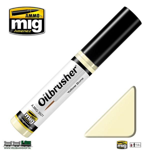 MIG 3521 MIG Jimenez Oilbrusher Pale Bone