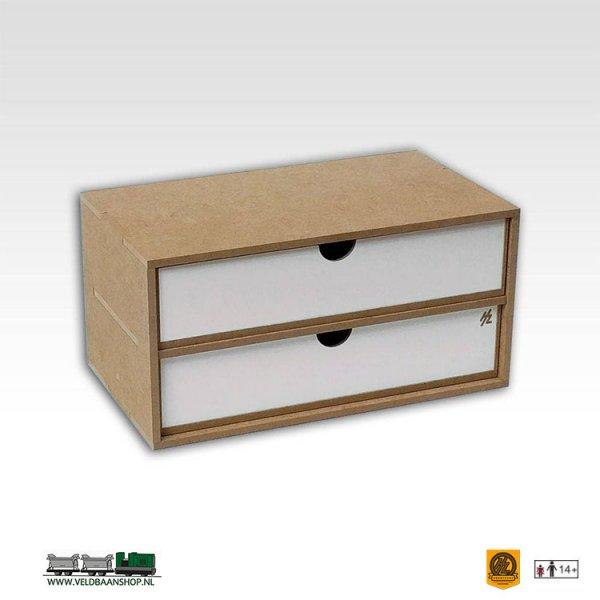 Hobbyzone OM02b Drawers Lades Module x2 bouwpakket