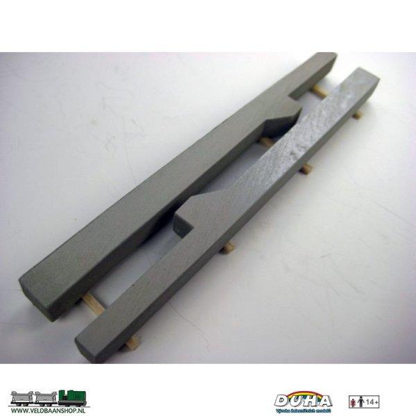 DUHA 11509 Betontrager 138x29x10 mm