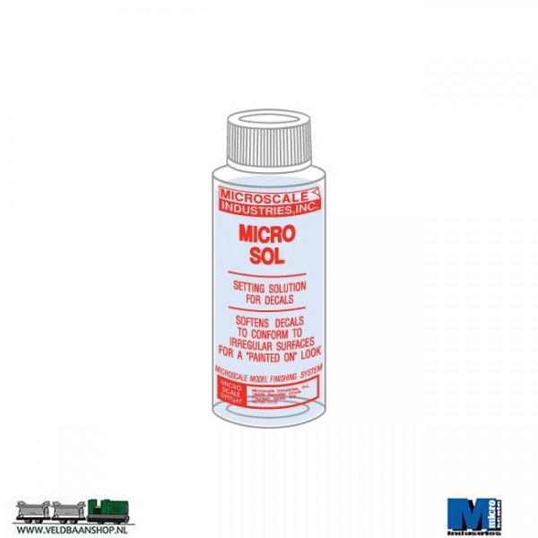 Microscale Micro Sol voor decals op moeilijke plaatsen