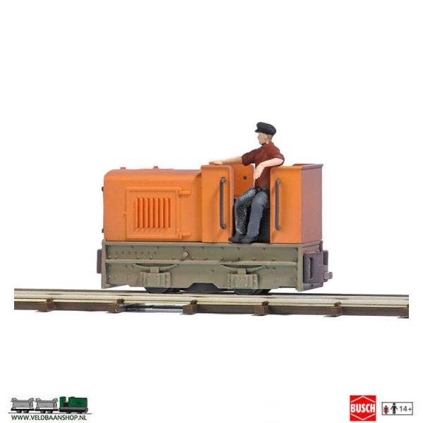 Busch 12181 open Diesel Lokomotief Gmeinder 15/18 H0f