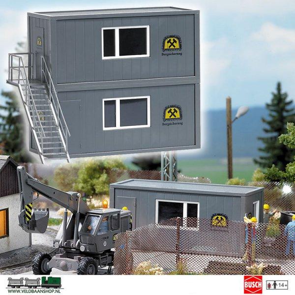 Busch 1032 bouwdoos containerset bewaking H0