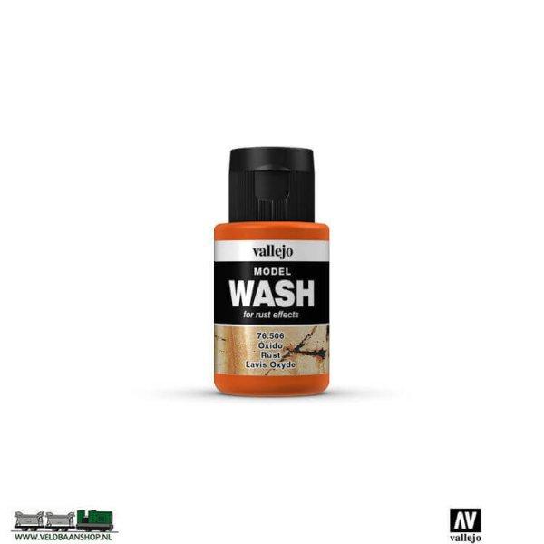 Vallejo 76506 Model Wash Rust 35ml potje