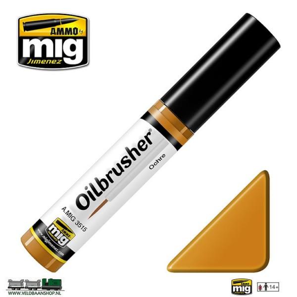 MIG 3515 Ammo MIG Jimenez Oilbrusher Ochre Veldbaanshop.nl