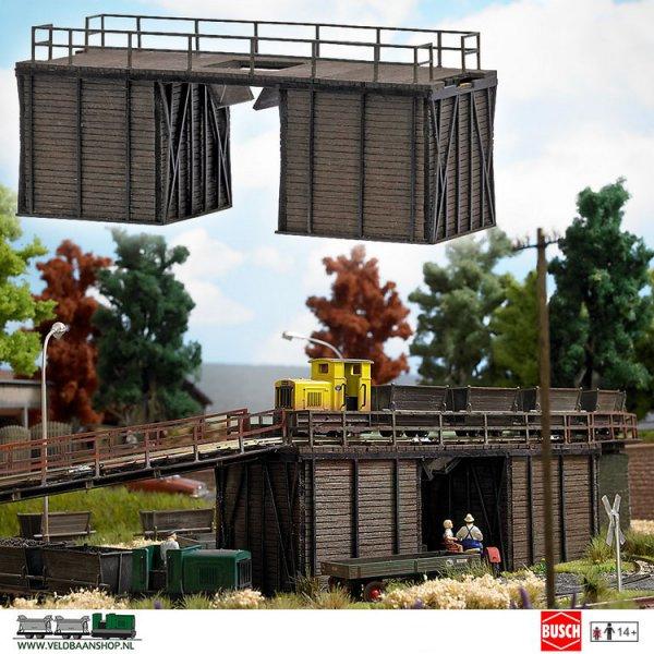 Busch 1542 bouwdoos losbrug H0