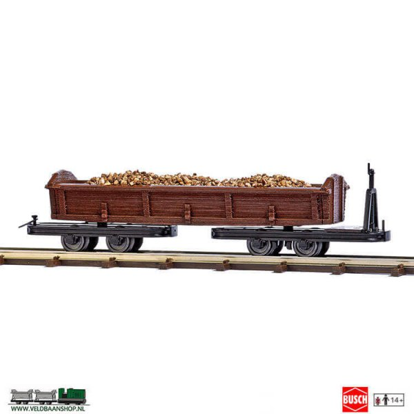 Busch 12248 goederenwagon met aardappelen H0f