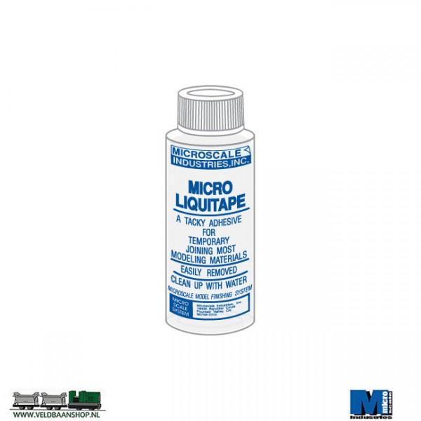 Microscale Micro Liquitape is vloeibare lijm met speciale mogelijkheden Veldbaanshop.nl