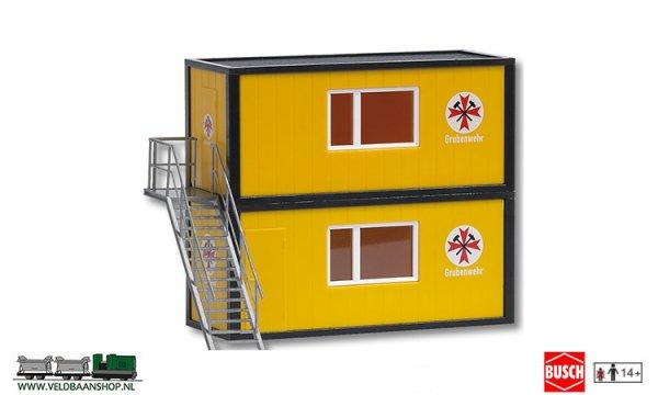Busch 1033 bouwdoos containerset ehbo H0