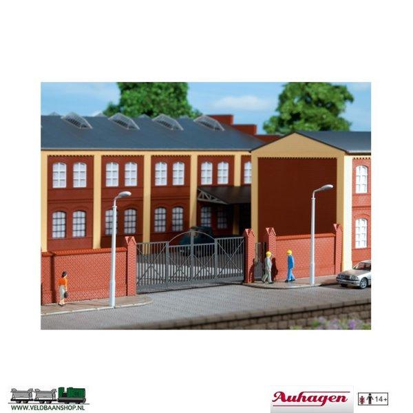 Auhagen 41622 Einfriedung mit Toren H0