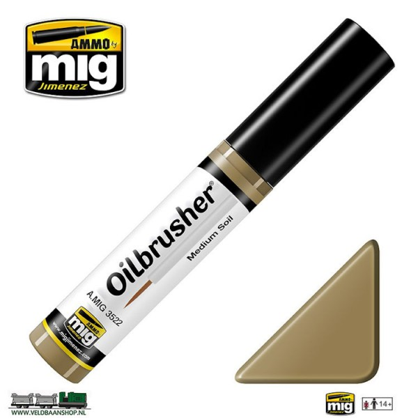 MIG 3522 MIG Jimenez Oilbrusher Medium Soil