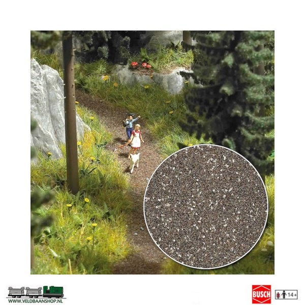 Busch 7527 steenslag bos en veldweg