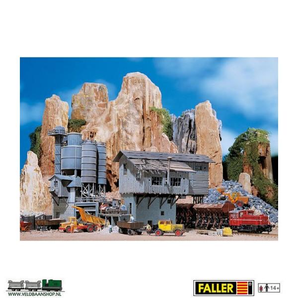 Faller 130961 oude steenoverslag H0 Veldbaanshop.nl
