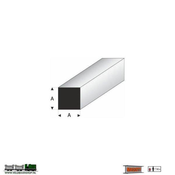MAQUETT 407-51/3 profiel : vierkant massief