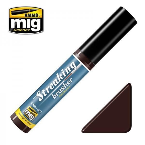 MIG 1252 Streaking Brusher Red Brown
