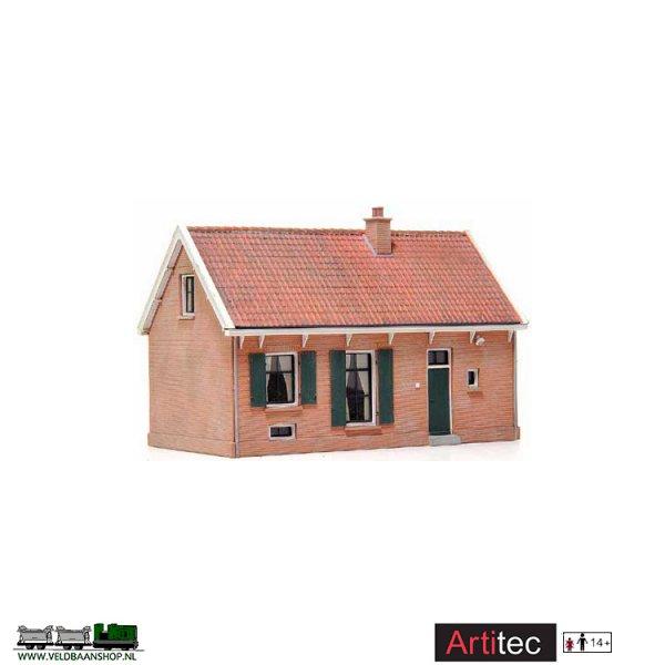 Artitec 10.102 Baanwachterswoning resin H0 1:87 Veldbaanshop.nl