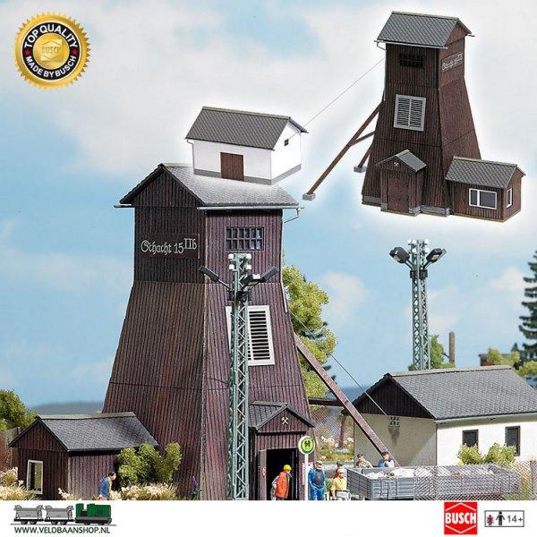 Busch 1476 bouwdoos lifttoren Schlema H0