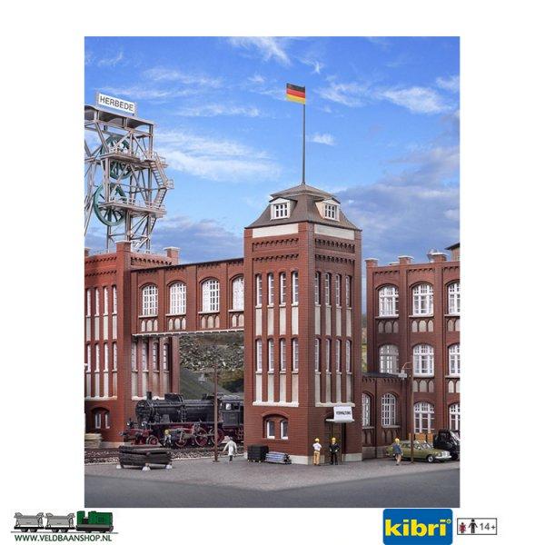 Kibri 39847 bouwpakket Verwaltungsturm mit Ueberg schaal H0 1:87