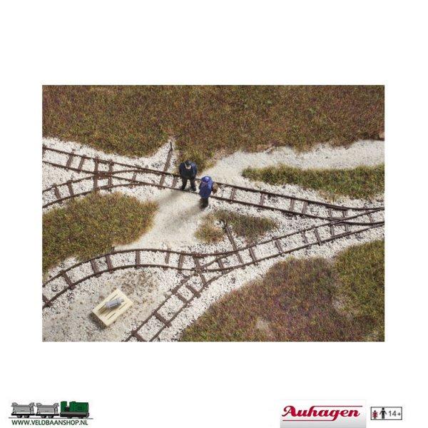 Auhagen 41701 veldspoor dummy railset H0f