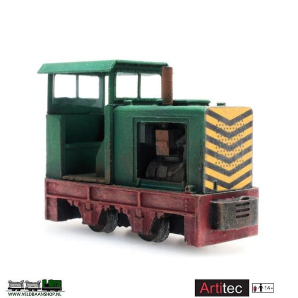 Artitec 387.371 Smalspoorlokje dummy gereed model