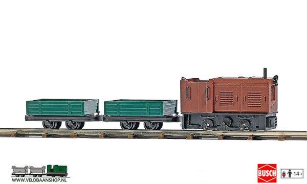 Busch 12004 veldspoor startset Transport H0f