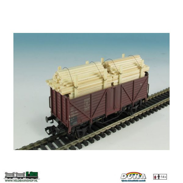 DUHA 11270C Bretter Stapel 86x26x31 mm H0