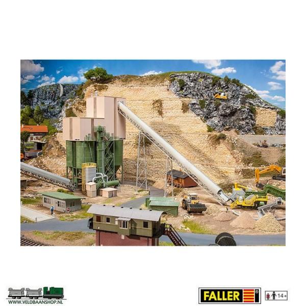 Faller 130170 steengroeve voor grindwinning Veldbaanshop.nl