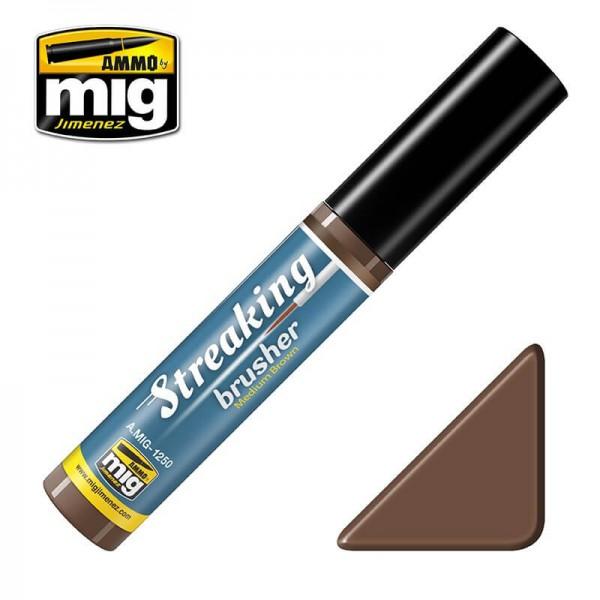 MIG 1250 Streaking Brusher: Medium Brown