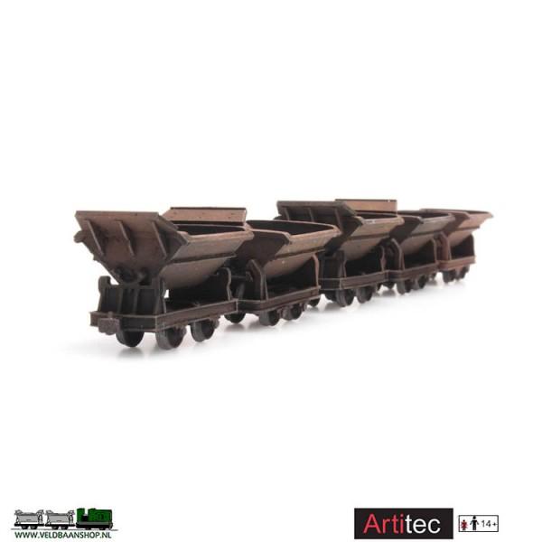 Artitec 387.396 - 5 kiplorries dummy gereed model