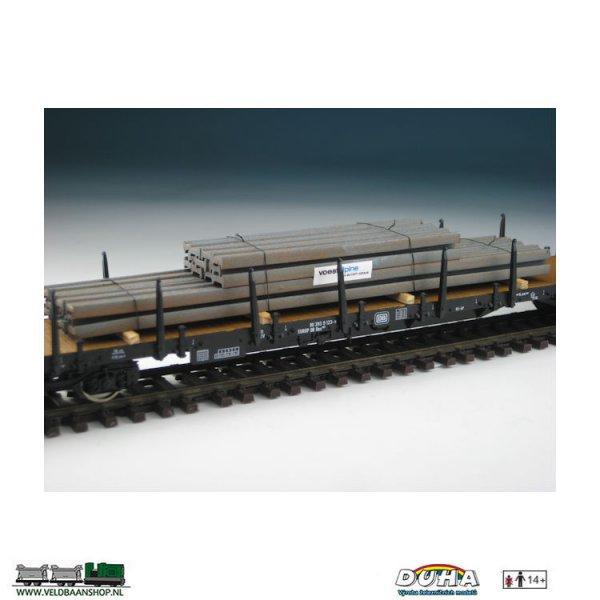 "DUHA 11421 Stahl I-Profile ""voestalpine"" H0 Veldbaanshop.nl"