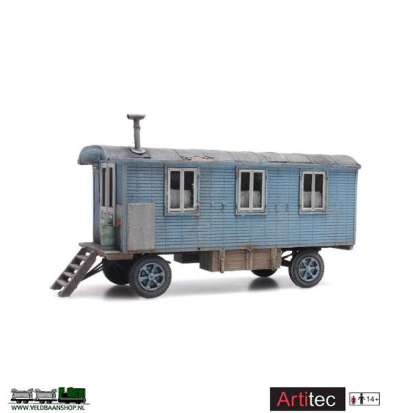 Artitec 387.366 Bouwkeet H0 gereed model