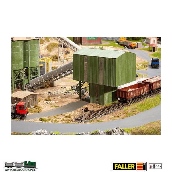 Faller 130171 laadtoren steenslagfabriek Veldbaanshop.nl