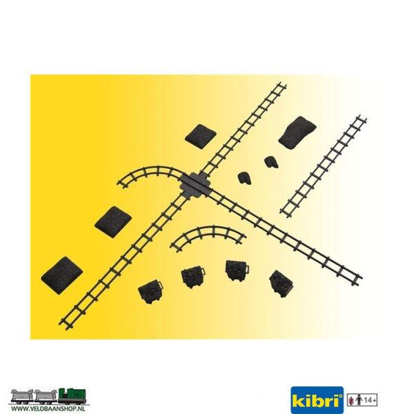Kibri 39853 Dummy set rails en wissel H0f