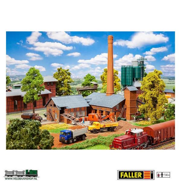 Faller 191746 steenfabriek ziegelei met toebehoren