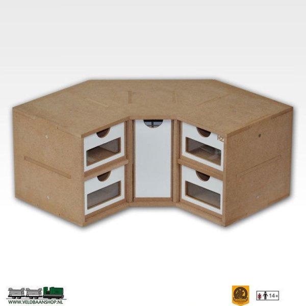 Hobbyzone OM03 Corner Drawers lades Module - OM03 bouwpakket