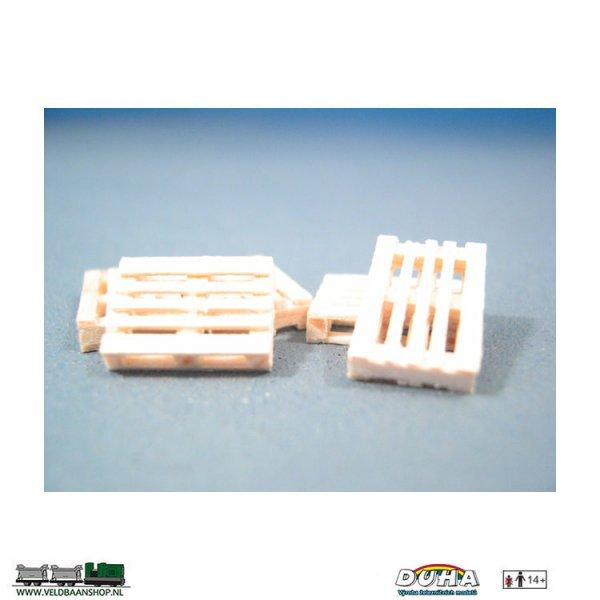 DUHA 11174 Paletten, 5 Stück, a 12x9x2 mm H0