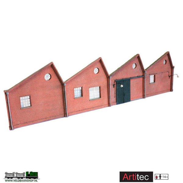 Artitec 10.305 Industrie-fasade resin H0 1:87