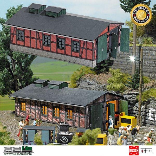 Busch 1475 bouwdoos locloods mijnbouw H0